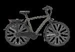 GAZELLE Chamonix C8 brązowy matowy 2021