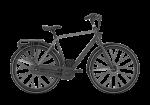 GAZELLE CityGo C7 czarny matowy 2021